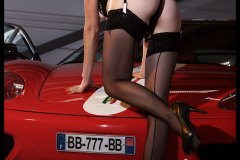 Challenge Stradale lingerie girl