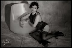Black lingerie Melany