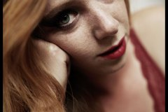 Portraits of a ginger girl