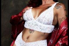 White lingerie Sherry BB